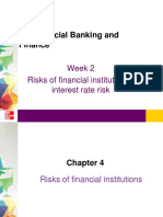 BFW 2401 Lecture Week 2 S1 2017 Risks of Financial Institutions - Interes Rate Risk