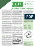 Wiesenhof Newsletter Oktober 2010