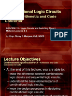 LOGCIRA113-Midterm-Lecture-3-4-Combinational-Logic-Circuits-Part-1-Arithmetic-and-Code-Conversion-Circuits.pptx