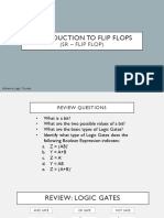 Introduction to FLIP FLOPS