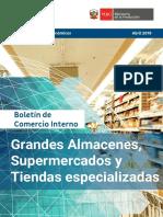 Boletín de Comercio Interno Abril 2019