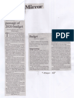 Business Mirror, Aug. 15, 2019, Solons vow timely passage of 2020 budget.pdf
