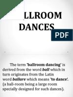 3. Ballroom Dance