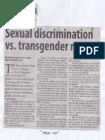 Manila Standard, Aug. 15, 2019, Sexual discrimination vs. transgender rapped.pdf
