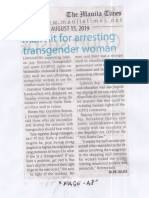 Manila Times, Aug. 15, 2019, Mall hit for arresting transgender woman.pdf