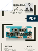 1 Introduction to Understanding the Self