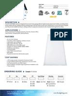 FORA+LED+Panel+2x4++Spec+Sheet