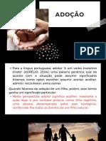 Apresentação sobre adoção no Brasil