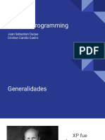 Extreme Programming - Software III (1)