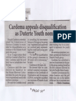 Philippine Star, Aug. 15, 2019, Cardema appeals disqualification as Duterte Youth nominee.pdf