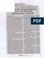 Philippine Star, Aug. 15, 2019, Militant lawmakers vow to block selective pork.pdf