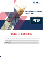 Mcci Business confidence indicator Second Quarter 2019