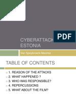 Cyberattack Estonia