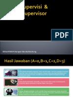 Supervisi & Supervisor