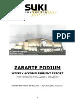 Zabarte Weekly Report 09Aug2019 #60
