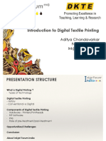 Introduction Digital Textile Printing