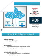 Mobile Computing-Lecture 1 & 2