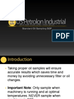 Lube Oil Sampling Procedure Presentation