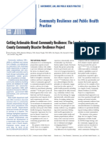 Getting Actionable About Community Resilience the Los Angeles County Community Disaster Resilience Project