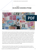 Krugman, P. China Intenta Enseñar Economía a Trump, 10-8-19