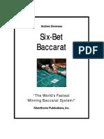 Six BetBaccarat Book