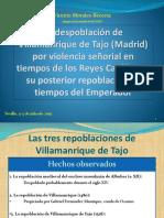 La repoblación de Villamanrique de Tajo