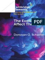 The Evolution of affect theory