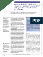 Management strategies for chronic rhinosinusitis