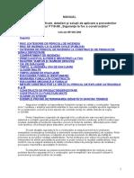 Manual privind exemplificari, detalieri si sol. de aplicare a prevederi norm. P118-9