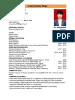Contoh CV Siti Nurjannah