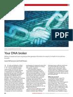 Your DNA broker