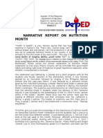 Narrative Report on Nutrition Month POO ES.doc
