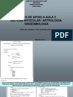 ANATOMIA DO SISTEMA ARTICULAR