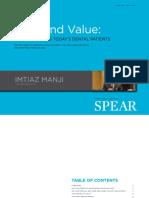 Imtiaz Manji Trust and Value eBook