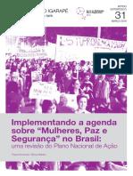 """Drumond&Rebelo_Implementando a agenda sobre """"Mulheres, Paz e Segurança"""" no Brasil- uma revisão do Plano Nacional de Ação"""