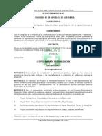 Ley Preliminar de Regionalizacion Decreto 70-86