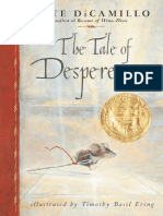 The Tale of Despereaux -Kate DiCamillo