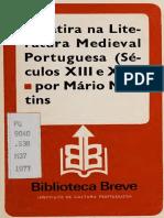 A sa´tira na literatura medieval portuguesa (se´culos XIII e XIV