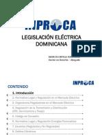 4- Legislacion Del Mercado Electrico