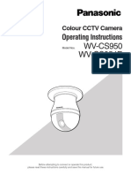 WV-CS950 Manual Eng