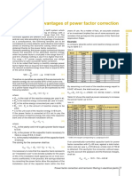 3 Economic Advantages of Power Factor Correction
