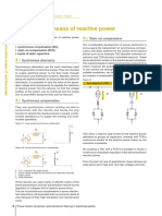 Generation Means of Reactive Power