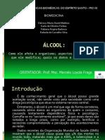 Álcool - Pre Projeto