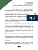 Meléndes, Ma. Lourdes análisis  de los Órdenes del Caos
