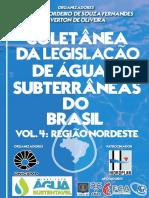 COLETÂNEA DA LEGISLA~~AO DE ÁGUAS SUBTERRÂNEAS DO BRASIL