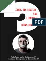 discurs instigator sau libertate de constiinta