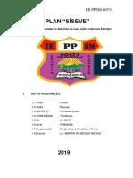 Plan de Siseve 2019 IEPPSM N° 60374 Terrabona Nivel Primaria