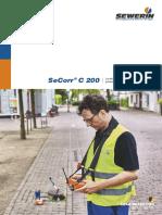 SeCorr® C 200 Catalogo(1)