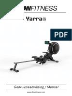 Flow Fitness Yarra manual
