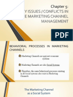 Chapter 5 - Issues in Channel Management Copy